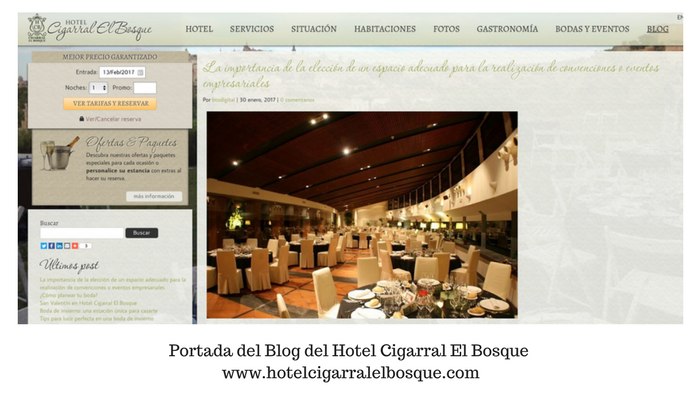 ¿Debe mi hotel tener un blog ? By the19throom