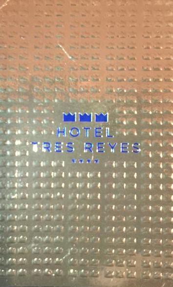 Tarjeta visita Hotel Tres Reyes ( By the19throom ) )